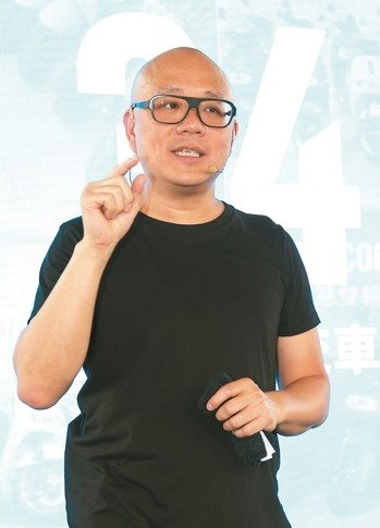 Horace Luke, CEO and founder of Gogoro (photo provided by UDN.com).