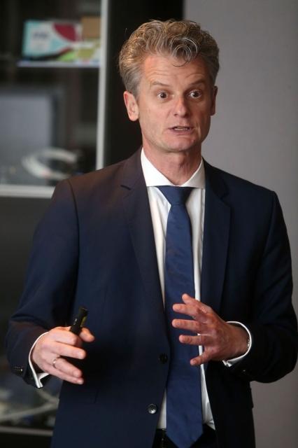 微軟亞洲區總裁賀樂賦(Ralph Haupter)。本報系資料照片