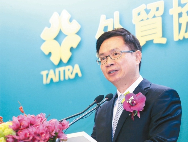 James Huang, chairman of TAITRA (photo provided by UDN.com).