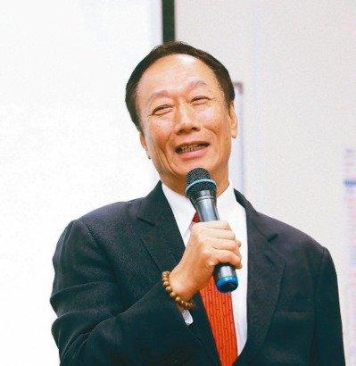 鴻海董事長郭台銘 本報系資料庫