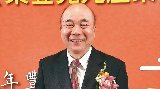 台灣機械公會理事長柯拔希獲選連任。 記者宋健生/攝影