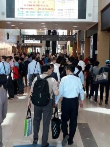 台湾扣件展(Taiwan International Fastener Show)共有415家厂商使用1,107个摊位,展出面积近2万平方公尺,展出规模不容小觑。(周凌珠/摄影)
