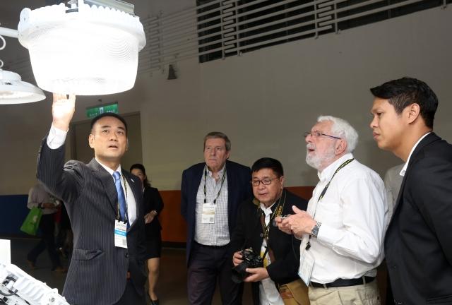 2017年台灣國際科技照明展自4月12日至15日於台北南港展覽館1館1樓展區展出。(貿協/提供)