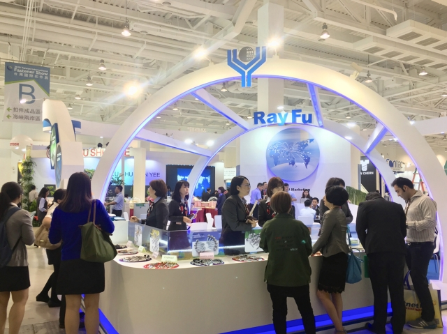 Ray Fu showcased an array of products at the 2018 Taiwan International Fastener Show and has successfully attracted many international buyers during the show. (photo courtesy of Ray Fu)