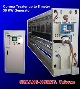 Cens.com News Picture Chaang-Horng Electronic Co., Ltd.Plastic surface-treating equipment, surface corona treaters, static eliminators