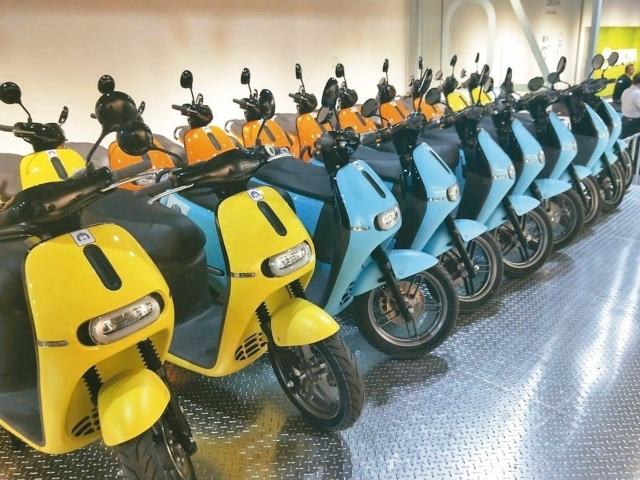 Powered two-wheeler sales in Taiwan suddenly slumped by 27 percent month on month for a couple of reasons, but didn`t disappoint insiders (photo courtesy of UDN.com).
