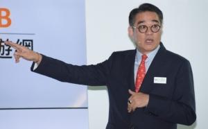 鴻海子公司富士康工業互聯網(FII)董事長陳永正。 圖/聯合報系資料照