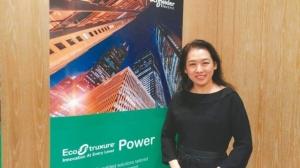 台灣施耐德電機總裁毛莉莉表示,重視人才培育,多元晉用人才,針對不同專業背景的員工,提供完善教育訓練。 張義宮/攝影