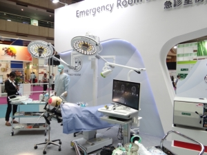 Cens.com News Picture Emergency Room Scenario Station Impresses Global Visitors with Di...