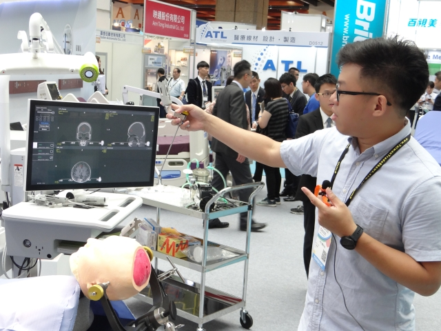 IoMT was one of the buzzwords repeatedly seen and heard at this year`s MEDICARE TAIWAN.