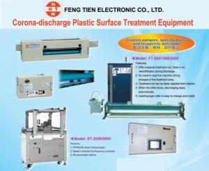 Feng Tien Electronic Co., Ltd. </h2><p class='subtitle'> Corona-discharge Plastic Surface Treatment Equipment</p>