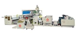 The outside lamination machine developed by Hao Yu