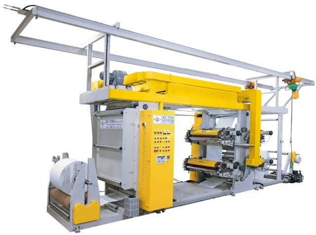 Lee Yeun`s HY-G5000 heavy-duty flexographic printing machine.