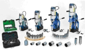 Cens.com News Picture 义錩磁性钻孔机 WS-6025MT,具备结合替换式钻头和穴钻二合一的双用型多功能钻孔,提升工作效率。