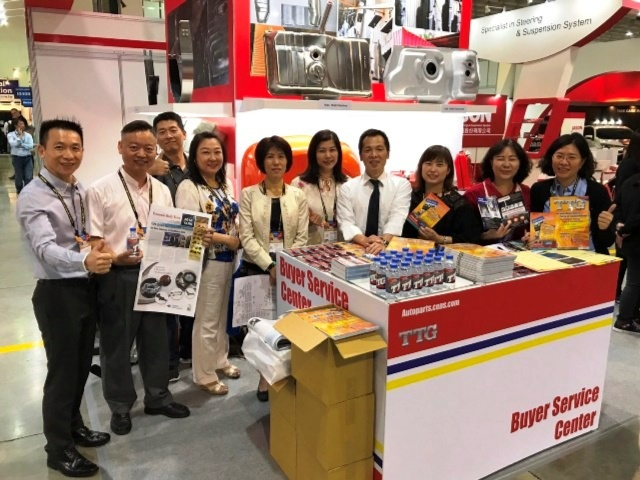 Economic Daily News and its subsidiary China Economic News Service also dispatched its full publishing team to this year's exhibition and provided buyers first-hand information regarding companies and business opportunity matching information. (Photograph by Jane Chou)