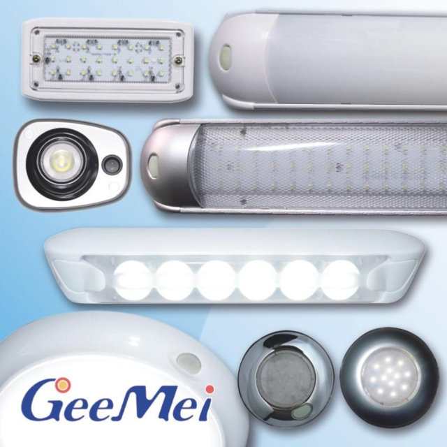 Gee Mei Technology is committed to designing and manufacturing interior LED lighting for installation inside RV vehicles and vessels.(photo courtesy of Gee Mei Technology)