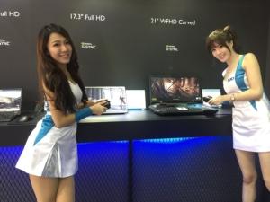 友達的電競面板產品。記者蕭君暉/攝影