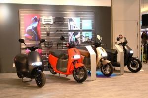 電動機車市場在Gogoro銷售快速成長以及光陽機車大動作進入市場下,三陽機車成關鍵少數,吸引兩方勢力拉攏,關係未來台灣電動機車系統的走勢。圖/本報資料照