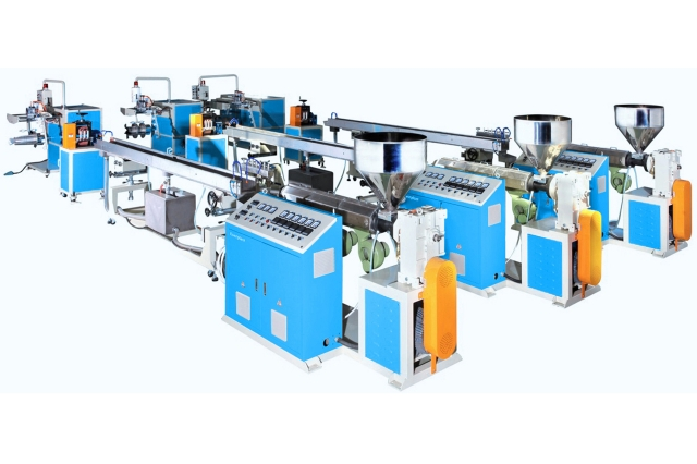 The company has successfully developed soft profile strip extrusion production lines that offer the best stability.(photo courtesy of Everplast Machinery Co., Ltd.)
