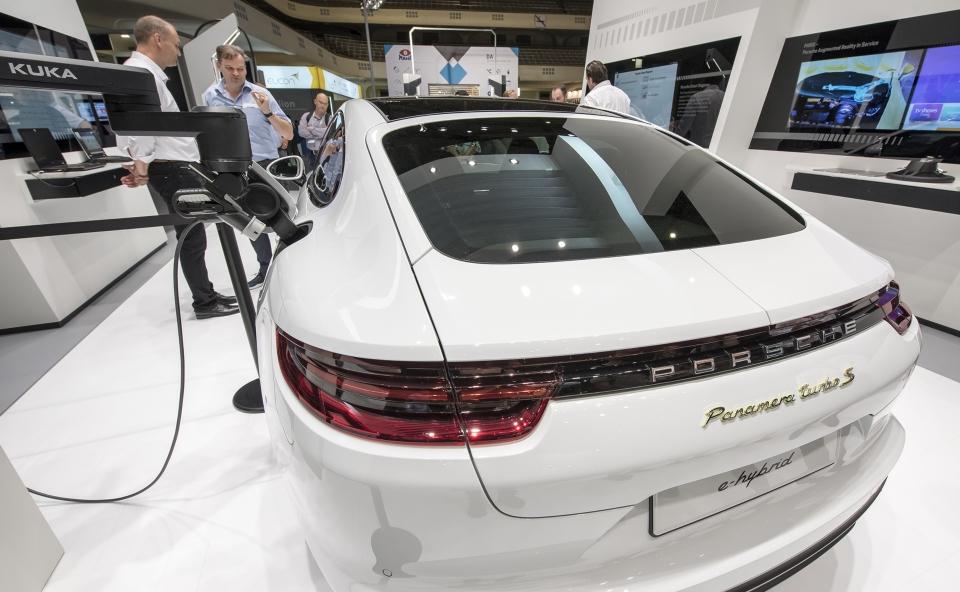 產業大牌參加法蘭克福汽配展,並展示新產品與科技應用。(法蘭克福展覽公司/ Jochen Gunther)