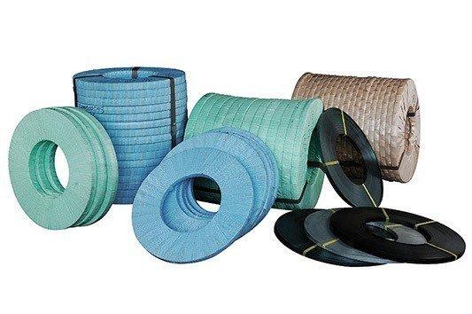 鋼帶系列產品,可依客戶需求裁切寬度。 暘利公司/提供