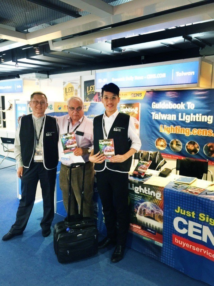 CENS.com is located in ED Hall, where buyers can obtain free Lighting Trade Magazines. (photo courtesy of CENS.com)