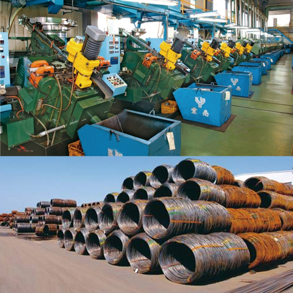 Ray Fu Enterprise factories are equipped with a wire rod storage area and operates screw heading and thread rolling processes. (photos courtesy of Ray Fu Enterprise Co., Ltd.)
