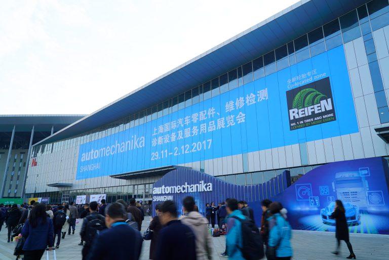 上海汽配展是全世界數一數二的汽配產業展覽。 (Messe Frankfurt China提供)