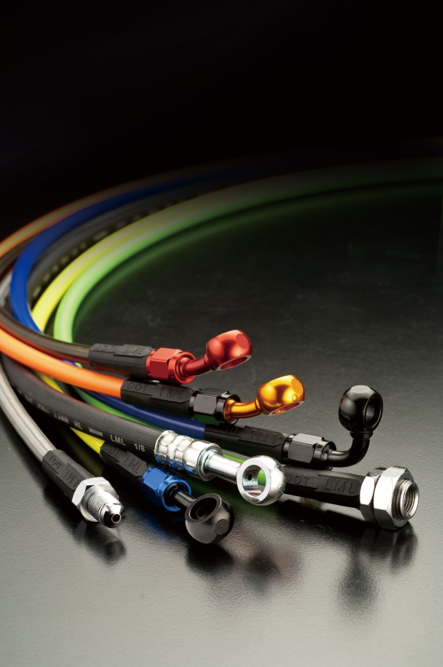 Lung Ming Li`s PTFE hoses are well received by end-users from different sectors. (photo courtesy of Lung Ming Li Co.,Ltd.)