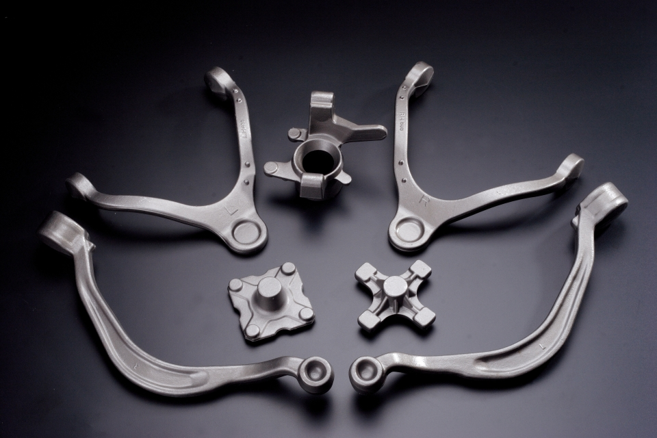 Auto parts made by Blacksmith (Photo courtesy of BLACKSMITH)