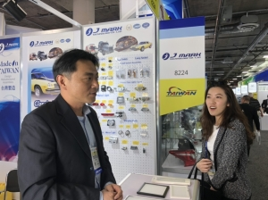 Cens.com News Picture Taiwan Exhibitors Talk Biz with LA Office at AAPEX