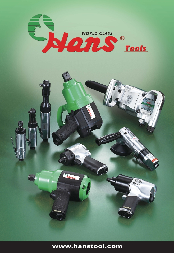 Hans Tool`s air impact wrenches. (photo courtesy of Hans Tool)