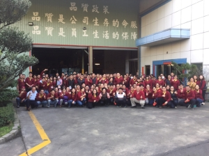 Shuenn Chang Fa Enterprise Co., Ltd. is a rigorously-managed company with a strong-knitted community among its employees. (photo courtesy of Shuenn Chang Fa Enterprise)