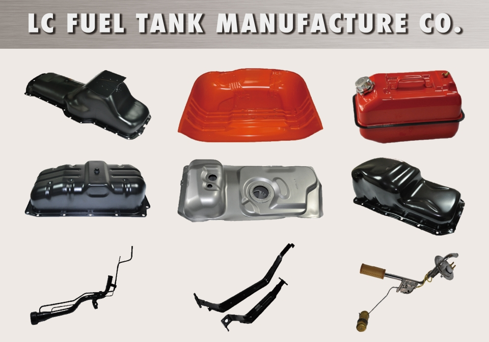 LC Fuel Tank Manufacture Co. makes fuel tanks/gas tanks, filler necks, fuel tank straps and oil pans. (photo courtesy of LC Fuel Tank Manufacture Co.)