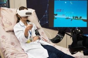 Cens.com News Picture 高雄榮總VR虛擬復健 重症病患動起來