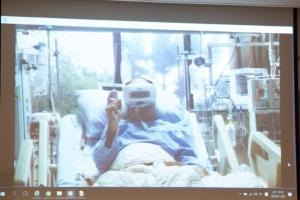 Cens.com News Picture 高雄荣总VR虚拟复健 重症病患动起来