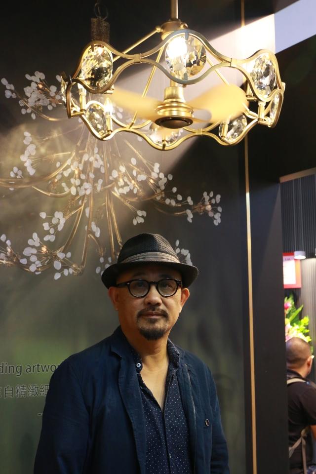 利斯得國際股份有限公司推出多款兼具美感與功能的吊扇燈。 (CENS.com)