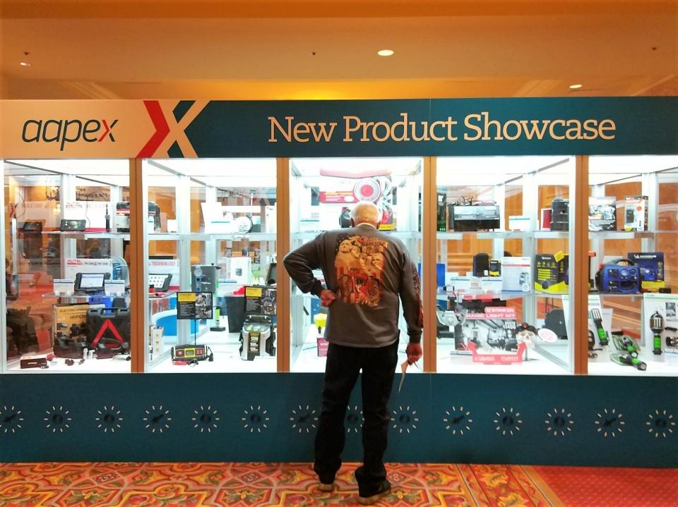 眾多廠商藉由AAPEX的規模來宣布新產品。