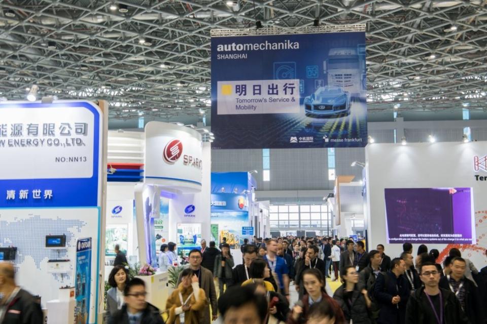 首度於上海展登場的「明日出行(Tomorrow`s Service & Mobility)」展區備受矚目。(圖片由法蘭克福展覽(上海)有限公司提供)