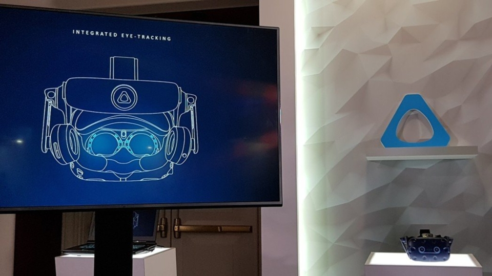 HTC VIVE於CES展前發表嶄新的硬體、軟體和應用內容服務,宣示重新定義VR(虛擬實境)的體驗方式。記者鄒秀明攝影