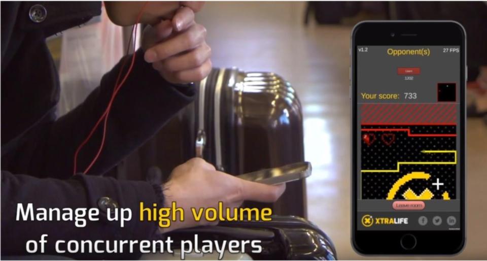 其中一項XTR4L1F3的服務為管理高數量的玩家。 (圖片截取自XTR4L1F3 Youtube影片)