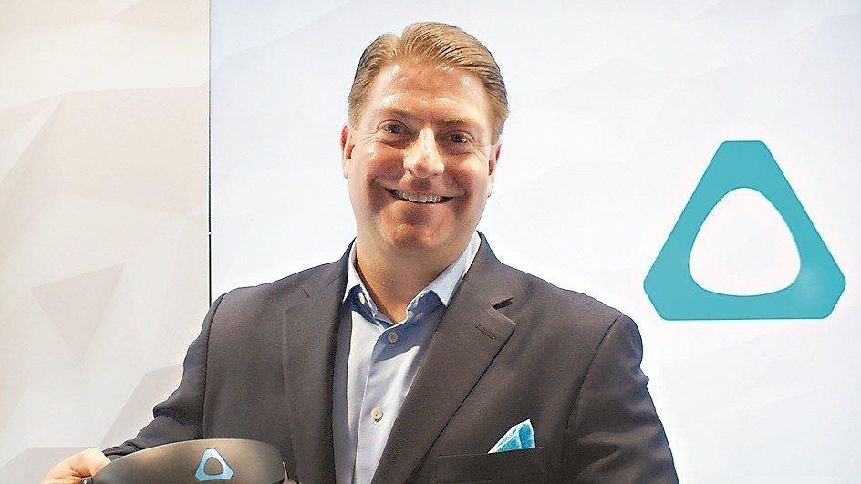 宏達電Vive美國區總經理歐布萊恩