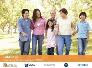 台湾物联网电信商优纳比在今年CES国际大展推出「家庭4.0」产品系列。 优纳比/提供