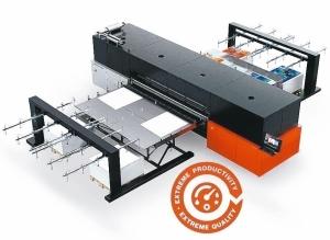 愛克發最新的高階UV噴墨設備Jeti Tauro H3300 LED。 愛克發/提供