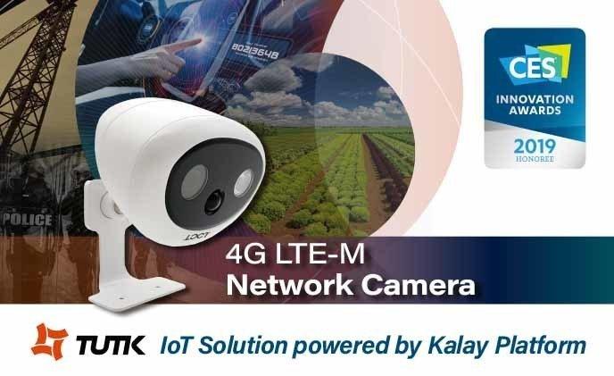 物聯智慧與4G LTE模組廠商Sierra Wireless及影像方案商LOCT合作推出的全球首款4G LTE-M攝影機已打入日本電信市場。 物聯智慧/提供
