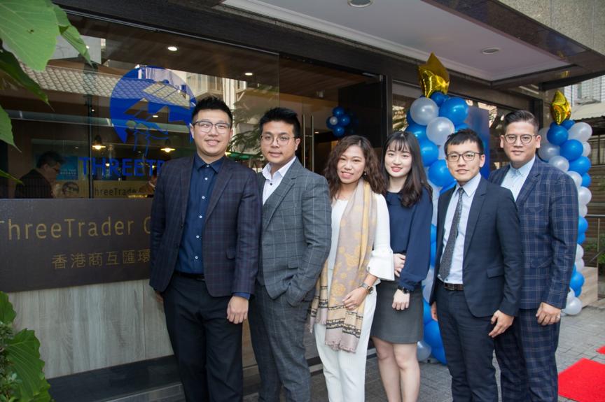 ThreeTrader的台灣分公司團隊成員普遍年輕。 ThreeTrader /提供