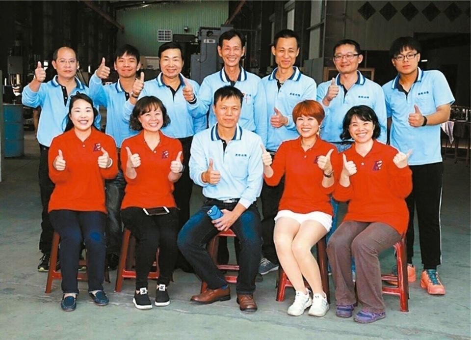 凱程功陽去年11月新廠落成,團隊核心成員合照。 凱程功陽/提供