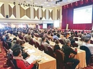 2019年高雄自動化工業展、化工儀器展廠商協調會在高雄君鴻酒店舉行,參展廠商出席踴躍。 戴佑真/攝影