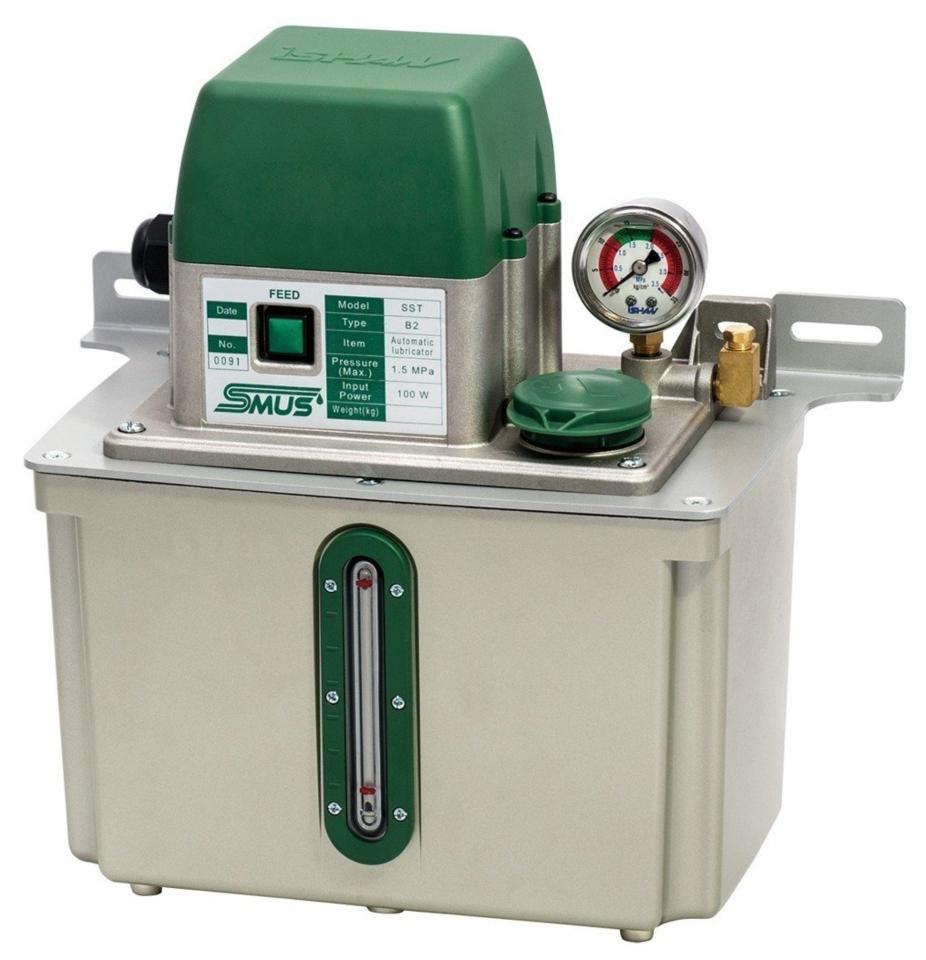 裕祥精機研製「SST容積式電動注油機」。 裕祥精機/提供