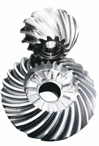 豪倫公司專業精密傘形齒輪製造。 吳青常/攝影